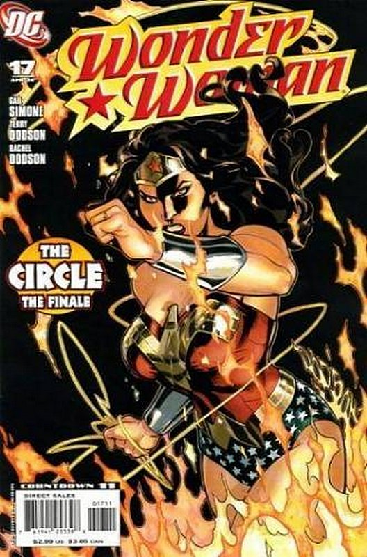 Cover of Wonder Woman (Vol 3) #17. One of 250,000 Vintage American Comics on sale from Krypton!