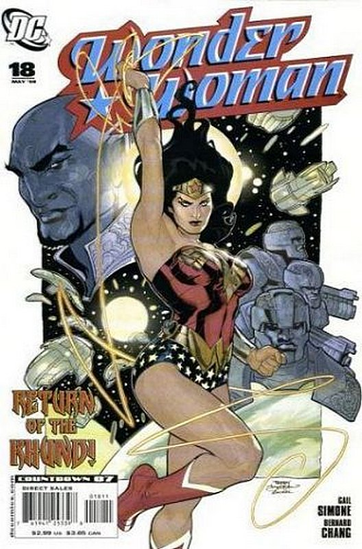 Cover of Wonder Woman (Vol 3) #18. One of 250,000 Vintage American Comics on sale from Krypton!