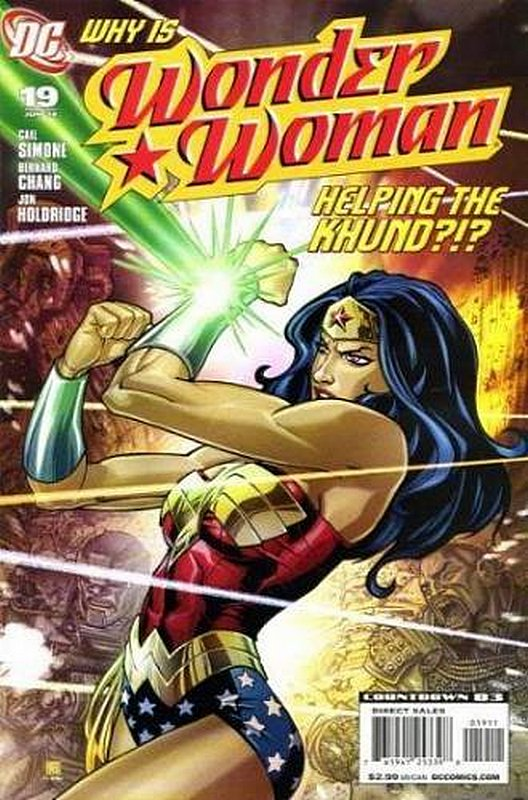 Cover of Wonder Woman (Vol 3) #19. One of 250,000 Vintage American Comics on sale from Krypton!