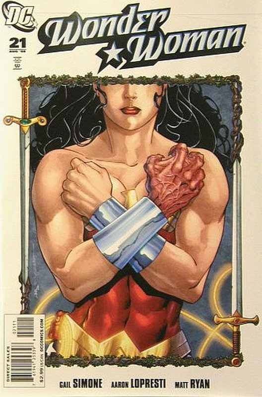 Cover of Wonder Woman (Vol 3) #21. One of 250,000 Vintage American Comics on sale from Krypton!
