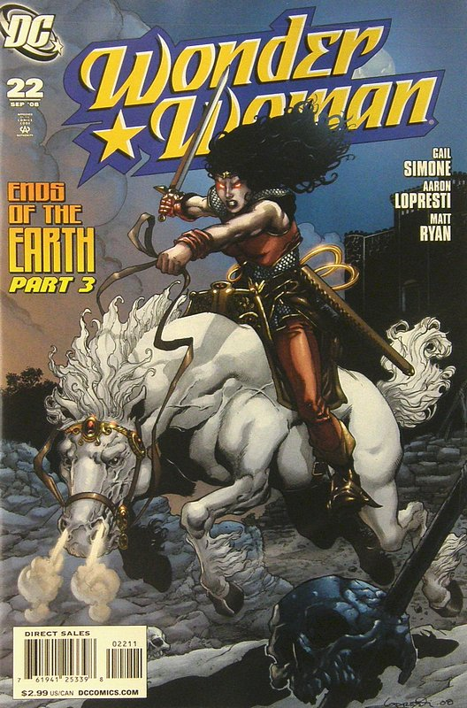 Cover of Wonder Woman (Vol 3) #22. One of 250,000 Vintage American Comics on sale from Krypton!