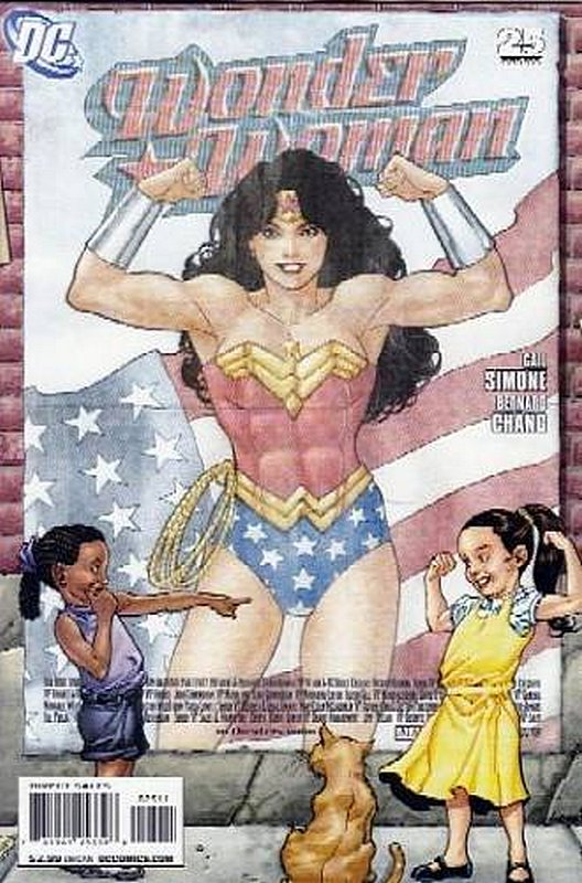 Cover of Wonder Woman (Vol 3) #25. One of 250,000 Vintage American Comics on sale from Krypton!