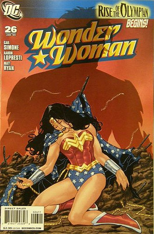 Cover of Wonder Woman (Vol 3) #26. One of 250,000 Vintage American Comics on sale from Krypton!