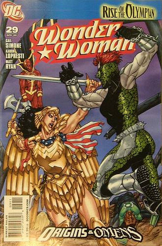 Cover of Wonder Woman (Vol 3) #29. One of 250,000 Vintage American Comics on sale from Krypton!