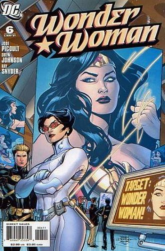 Cover of Wonder Woman (Vol 3) #6. One of 250,000 Vintage American Comics on sale from Krypton!