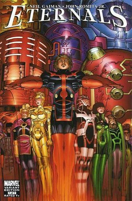 Cover of Eternals (2006 Ltd) #7. One of 250,000 Vintage American Comics on sale from Krypton!