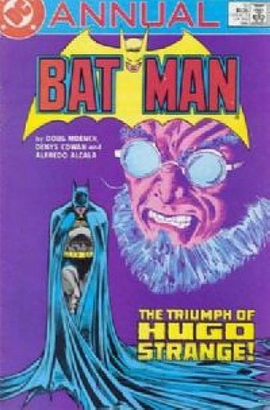 Cover of Batman Annual #10. One of 250,000 Vintage American Comics on sale from Krypton!