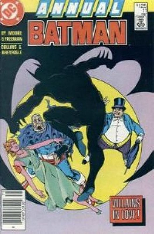 Cover of Batman Annual #11. One of 250,000 Vintage American Comics on sale from Krypton!