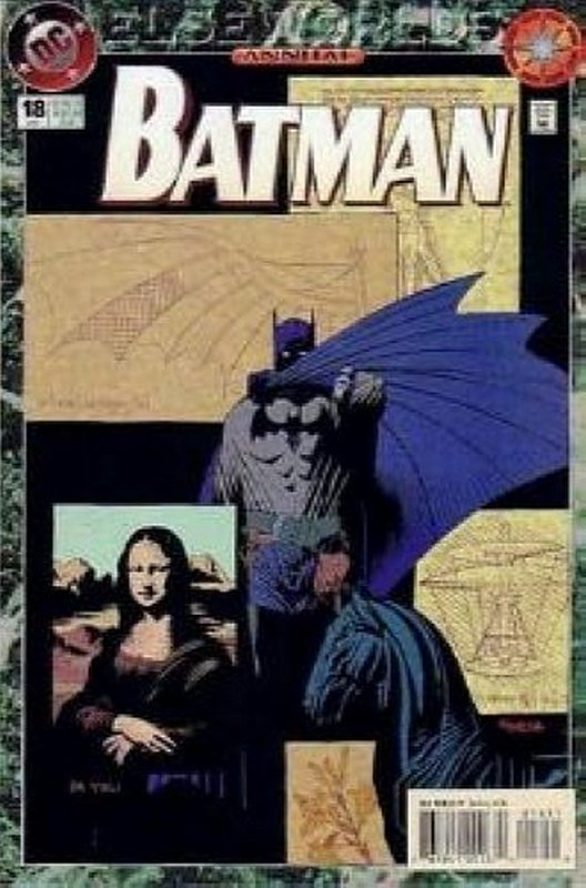Cover of Batman Annual #18. One of 250,000 Vintage American Comics on sale from Krypton!