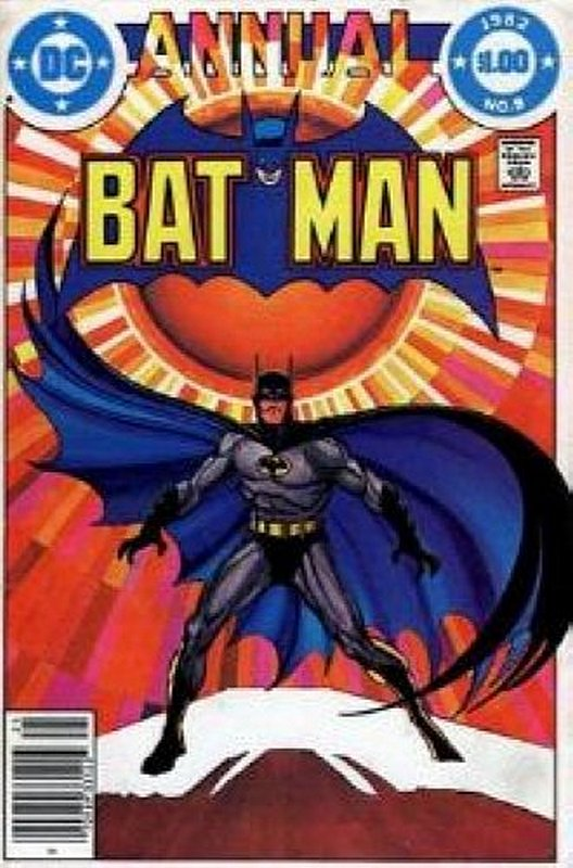 Cover of Batman Annual #8. One of 250,000 Vintage American Comics on sale from Krypton!