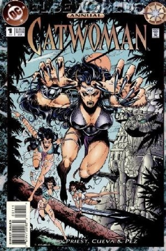 Cover of Catwoman Annual (1993-1997) #1. One of 250,000 Vintage American Comics on sale from Krypton!