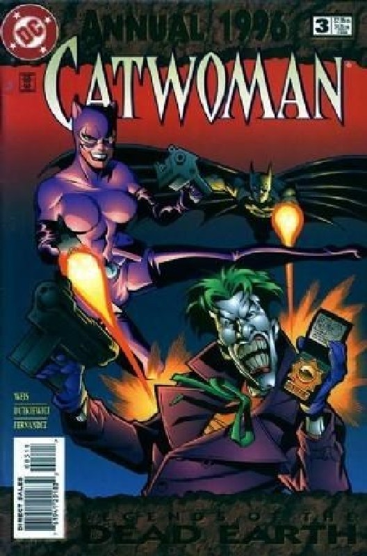 Cover of Catwoman Annual (1993-1997) #3. One of 250,000 Vintage American Comics on sale from Krypton!