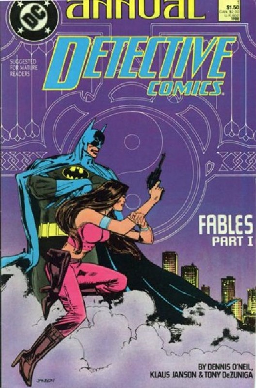 Cover of Detective Comics Annual #1. One of 250,000 Vintage American Comics on sale from Krypton!