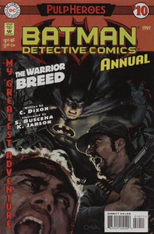 Cover of Detective Comics Annual #10. One of 250,000 Vintage American Comics on sale from Krypton!