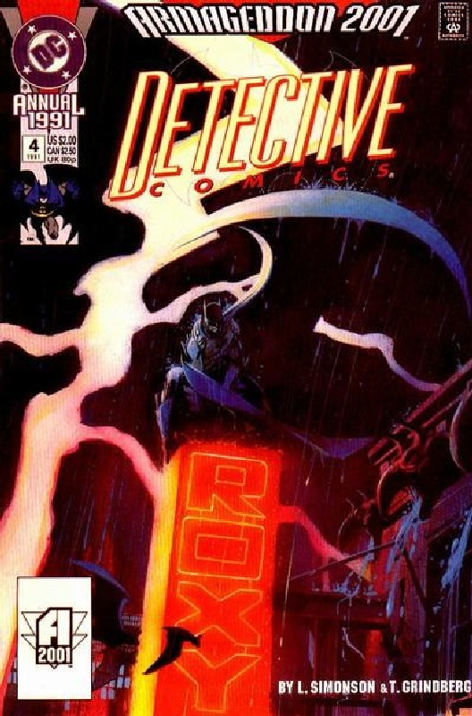 Cover of Detective Comics Annual #4. One of 250,000 Vintage American Comics on sale from Krypton!