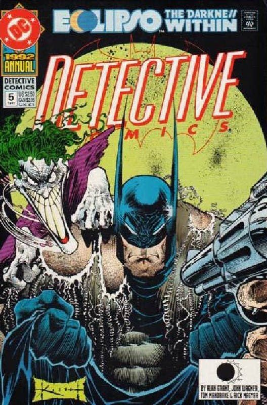 Cover of Detective Comics Annual #5. One of 250,000 Vintage American Comics on sale from Krypton!