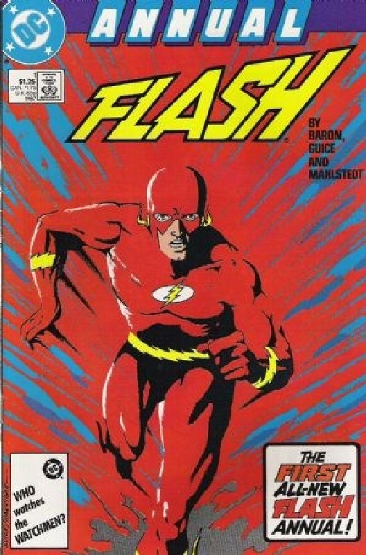 Cover of Flash Annual (Vol 2) #1. One of 250,000 Vintage American Comics on sale from Krypton!
