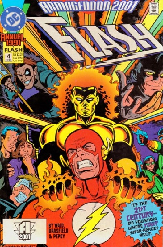 Cover of Flash Annual (Vol 2) #4. One of 250,000 Vintage American Comics on sale from Krypton!