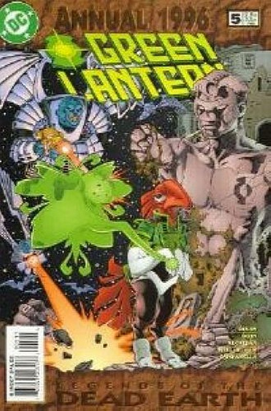 Cover of Green Lantern Annual #5. One of 250,000 Vintage American Comics on sale from Krypton!