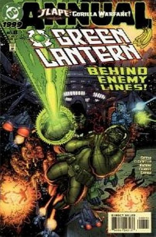 Cover of Green Lantern Annual #8. One of 250,000 Vintage American Comics on sale from Krypton!
