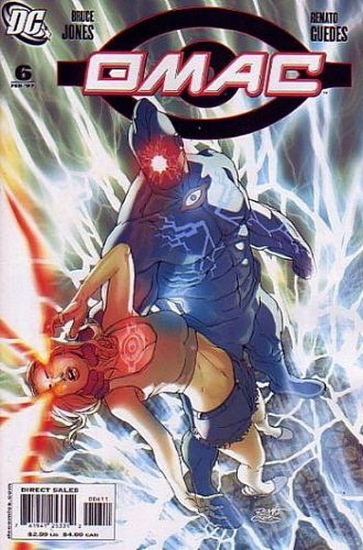 Cover of Omac (2006 Ltd) #6. One of 250,000 Vintage American Comics on sale from Krypton!