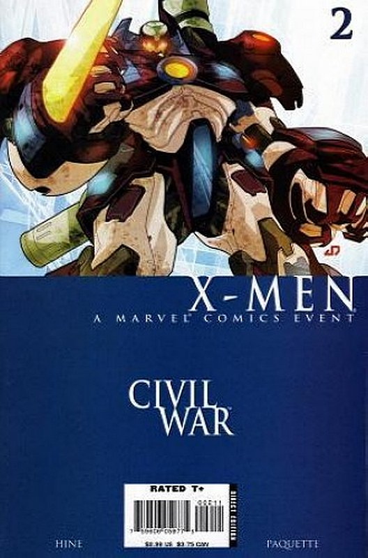 Cover of Civil War: X-Men (2006 Ltd) #2. One of 250,000 Vintage American Comics on sale from Krypton!