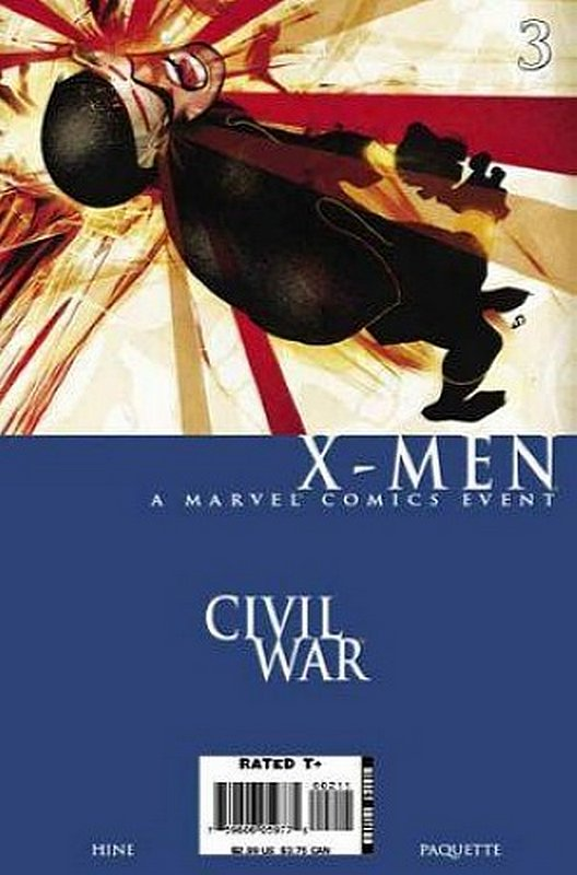 Cover of Civil War: X-Men (2006 Ltd) #3. One of 250,000 Vintage American Comics on sale from Krypton!