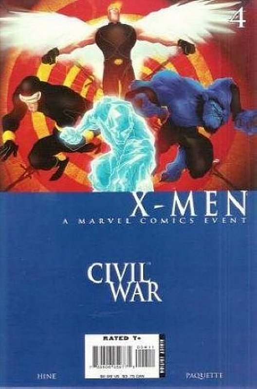 Cover of Civil War: X-Men (2006 Ltd) #4. One of 250,000 Vintage American Comics on sale from Krypton!