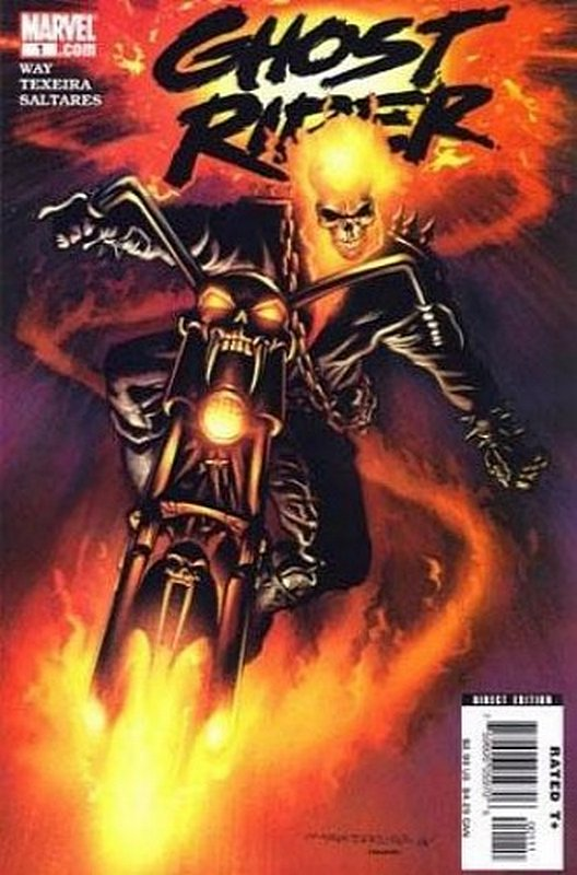 Cover of Ghost Rider (Vol 3) #1. One of 250,000 Vintage American Comics on sale from Krypton!