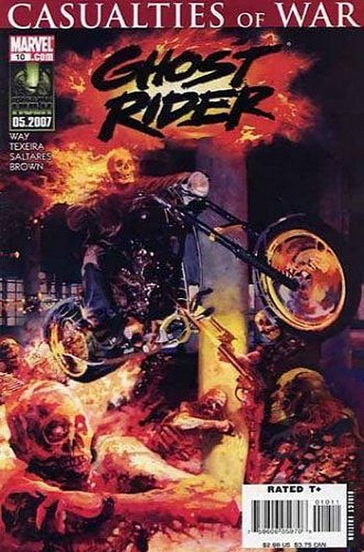 Cover of Ghost Rider (Vol 3) #10. One of 250,000 Vintage American Comics on sale from Krypton!