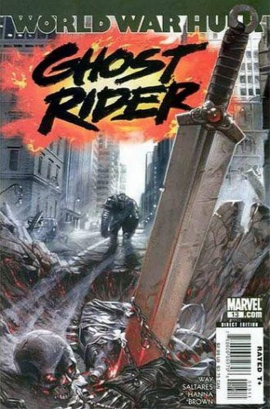Cover of Ghost Rider (Vol 3) #13. One of 250,000 Vintage American Comics on sale from Krypton!