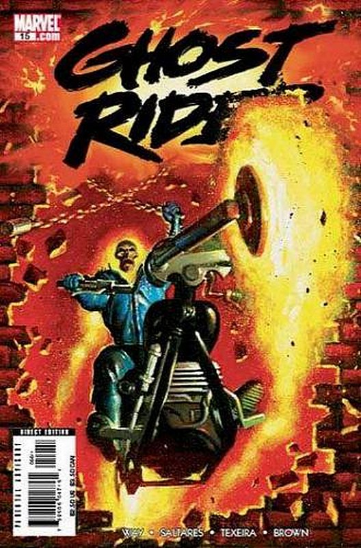 Cover of Ghost Rider (Vol 3) #15. One of 250,000 Vintage American Comics on sale from Krypton!