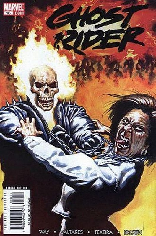 Cover of Ghost Rider (Vol 3) #16. One of 250,000 Vintage American Comics on sale from Krypton!