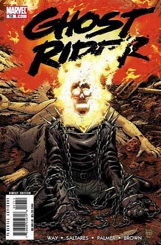 Cover of Ghost Rider (Vol 3) #18. One of 250,000 Vintage American Comics on sale from Krypton!