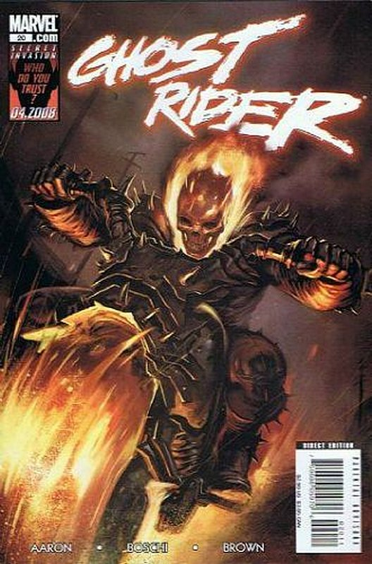Cover of Ghost Rider (Vol 3) #20. One of 250,000 Vintage American Comics on sale from Krypton!