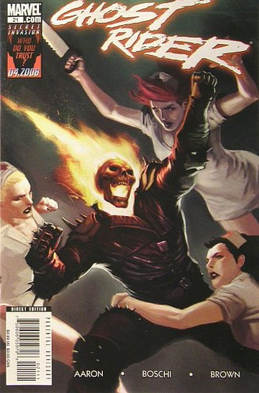 Cover of Ghost Rider (Vol 3) #21. One of 250,000 Vintage American Comics on sale from Krypton!