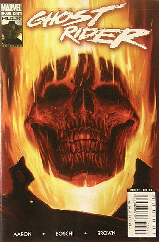 Cover of Ghost Rider (Vol 3) #23. One of 250,000 Vintage American Comics on sale from Krypton!