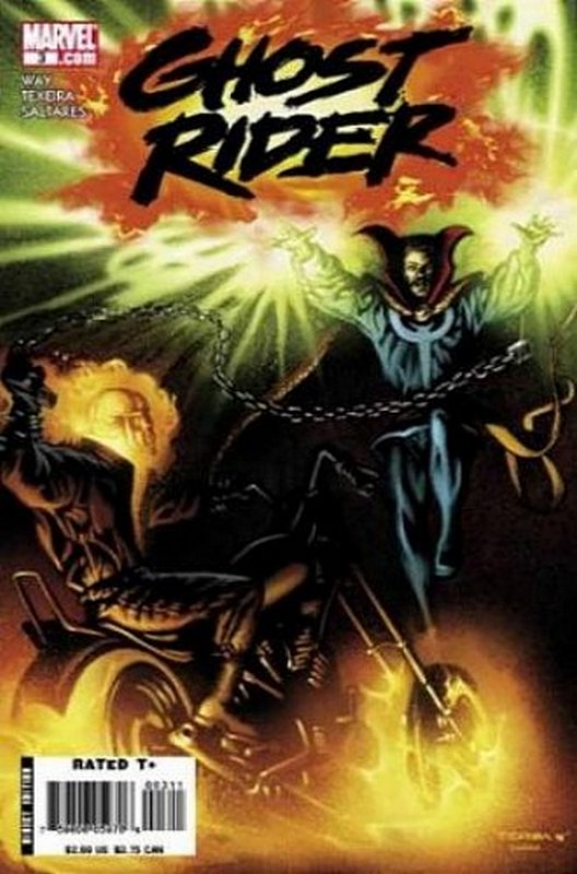 Cover of Ghost Rider (Vol 3) #3. One of 250,000 Vintage American Comics on sale from Krypton!