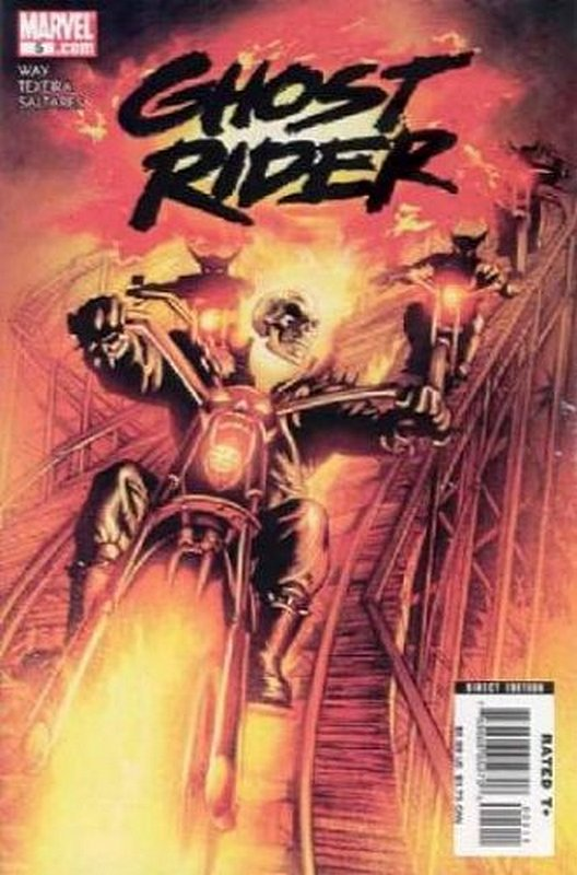 Cover of Ghost Rider (Vol 3) #5. One of 250,000 Vintage American Comics on sale from Krypton!