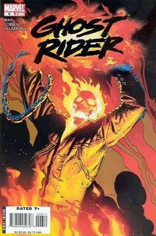 Cover of Ghost Rider (Vol 3) #6. One of 250,000 Vintage American Comics on sale from Krypton!