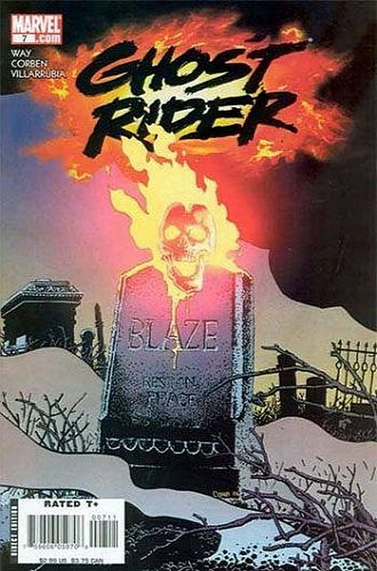 Cover of Ghost Rider (Vol 3) #7. One of 250,000 Vintage American Comics on sale from Krypton!