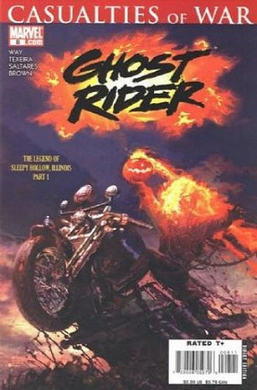 Cover of Ghost Rider (Vol 3) #8. One of 250,000 Vintage American Comics on sale from Krypton!