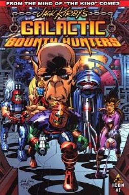 Cover of Jack Kirbys Galactic Bounty Hunters (2006 Ltd) #1. One of 250,000 Vintage American Comics on sale from Krypton!