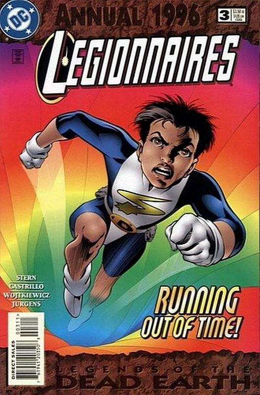 Cover of Legionnaires Annual (Vol 1) #3. One of 250,000 Vintage American Comics on sale from Krypton!