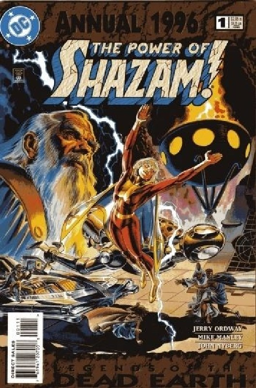 Cover of Power of Shazam Annual (Vol 1) #1. One of 250,000 Vintage American Comics on sale from Krypton!