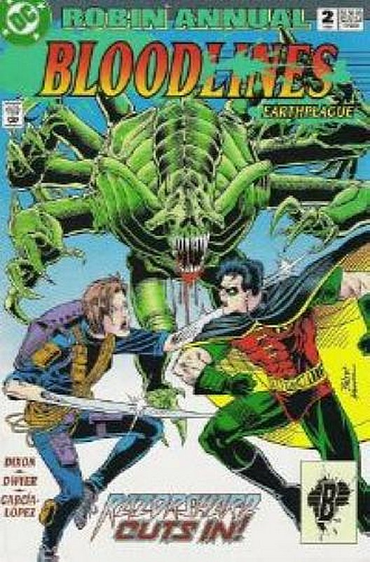 Cover of Robin Annual #2. One of 250,000 Vintage American Comics on sale from Krypton!