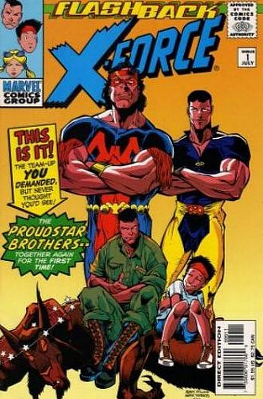 Cover of X-Force (Vol 1) #-1. One of 250,000 Vintage American Comics on sale from Krypton!