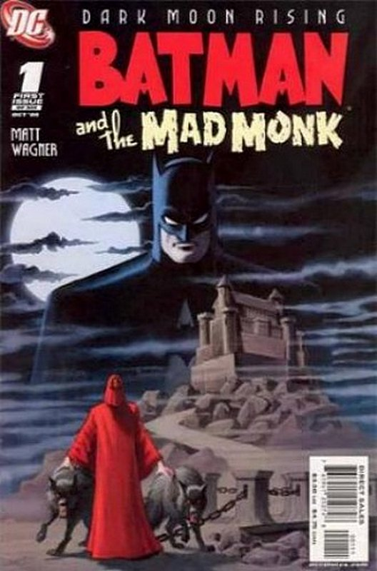 Cover of Batman & The Mad Monk #1. One of 250,000 Vintage American Comics on sale from Krypton!