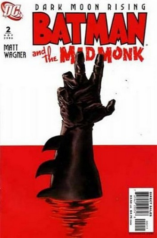 Cover of Batman & The Mad Monk #2. One of 250,000 Vintage American Comics on sale from Krypton!