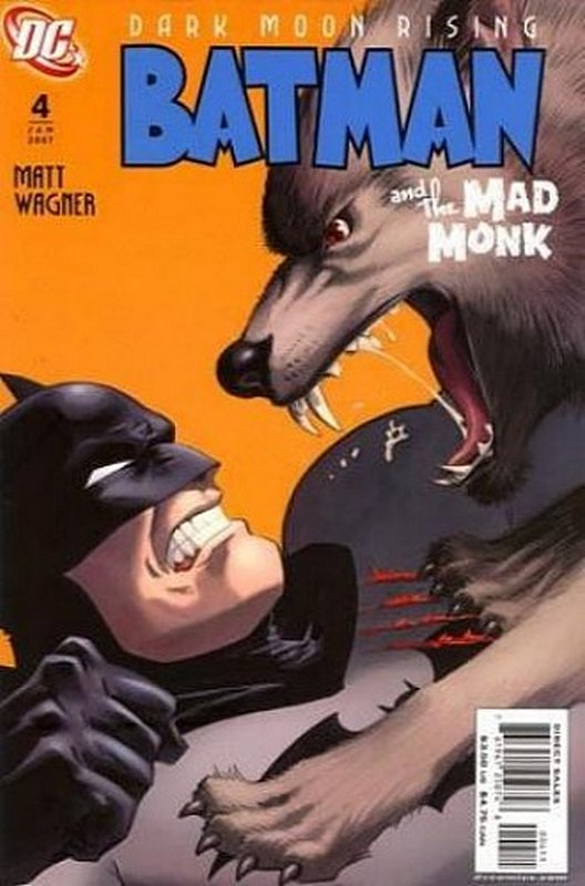 Cover of Batman & The Mad Monk #4. One of 250,000 Vintage American Comics on sale from Krypton!